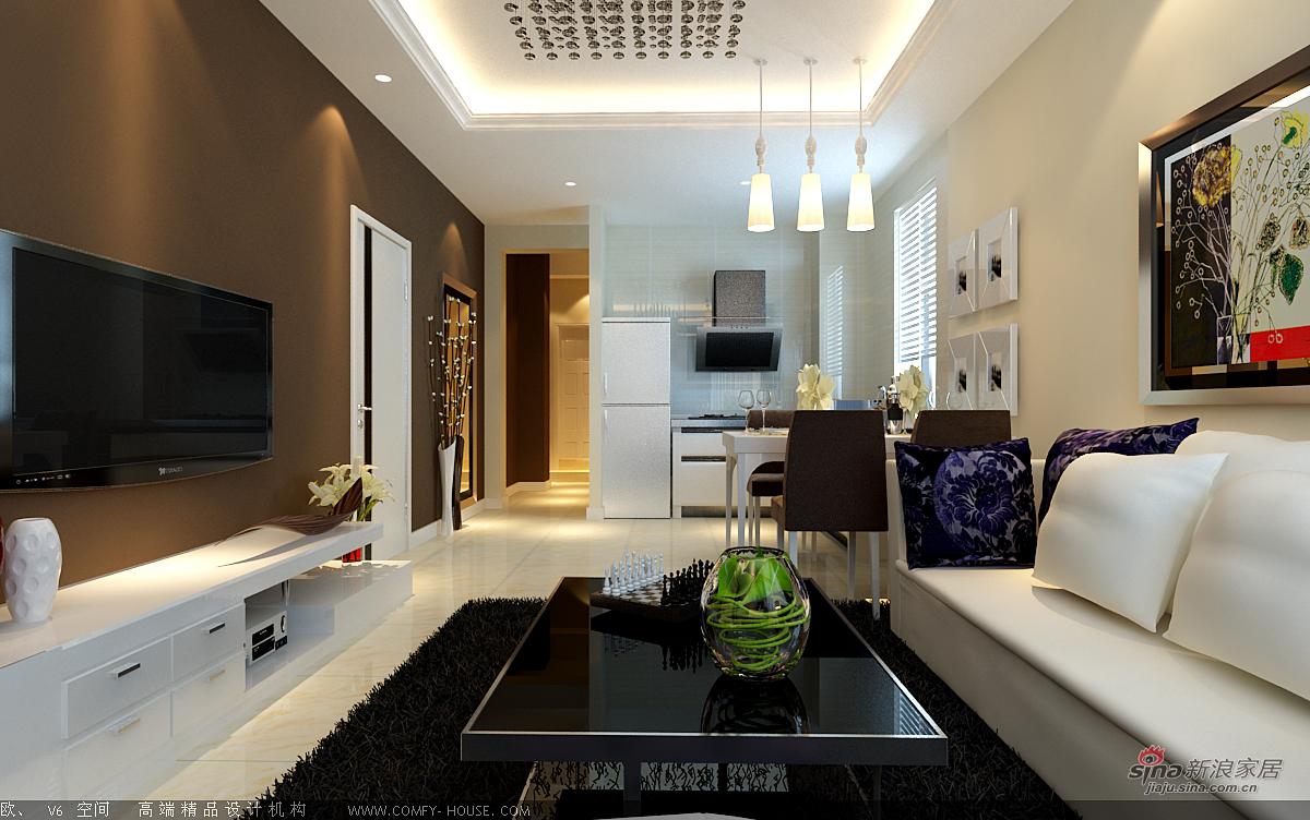 简约 二居 客厅图片来自用户2738845145在现代简约装饰效果46的分享