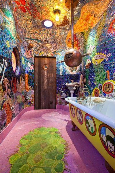 美轮美奂的浴室