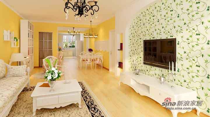 田园 二居 客厅图片来自用户2737946093在8.1万打造田园风格的家【奥林小镇】76的分享