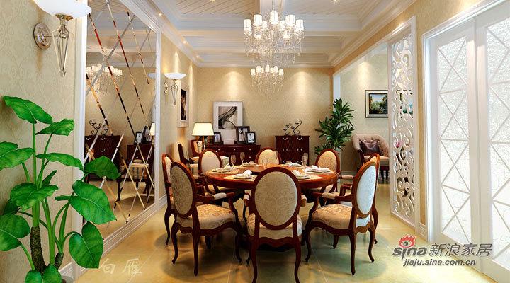 欧式 别墅 餐厅图片来自用户2757317061在30万全包欧式风格200平温泉别墅63的分享