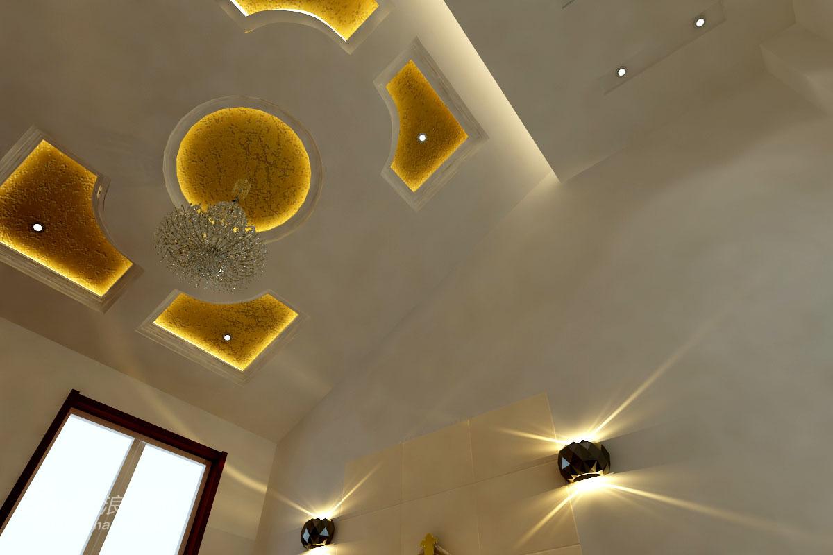 其他 别墅 卧室图片来自用户2558757937在15万装修249平米的观筑庭院简欧设计33的分享