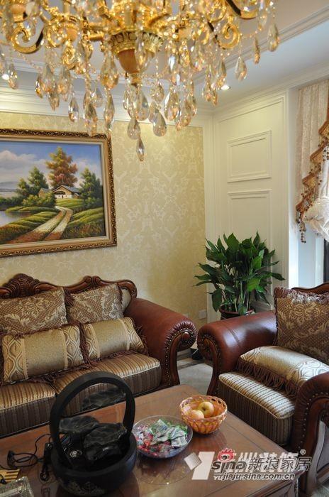 欧式 公寓 客厅图片来自用户2746948411在9万打造140平简欧花园洋房91的分享