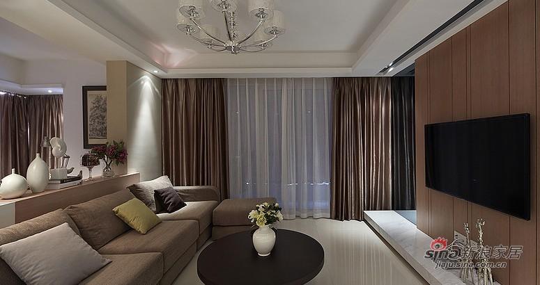 中式 三居 客厅图片来自用户1907658205在夫妻20万打造102平中式3居室60的分享