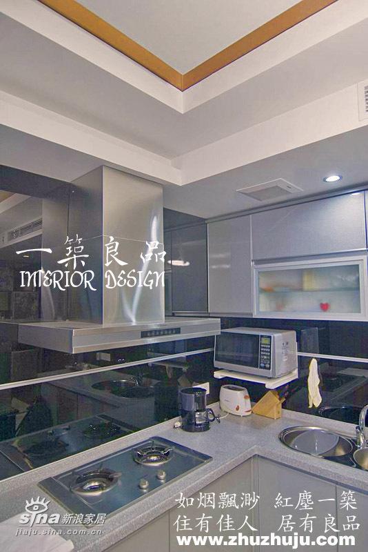 简约 一居 厨房图片来自用户2739378857在37平米小空间大魔术35的分享
