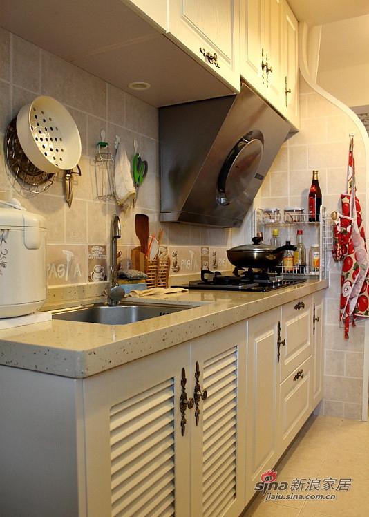 简约 二居 厨房图片来自装修微日记在【高清】45平温馨甜蜜简约二人世界67的分享