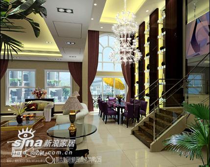 其他 别墅 餐厅图片来自用户2557963305在武汉卓越蔚藍海岸示范单位91的分享