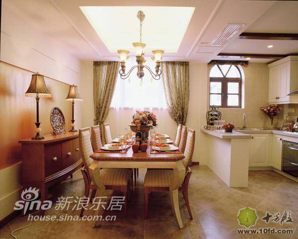 开放式的厨房与餐厅