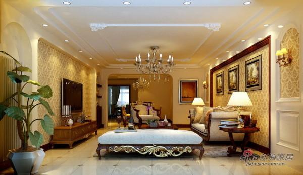 简欧风格客厅设计