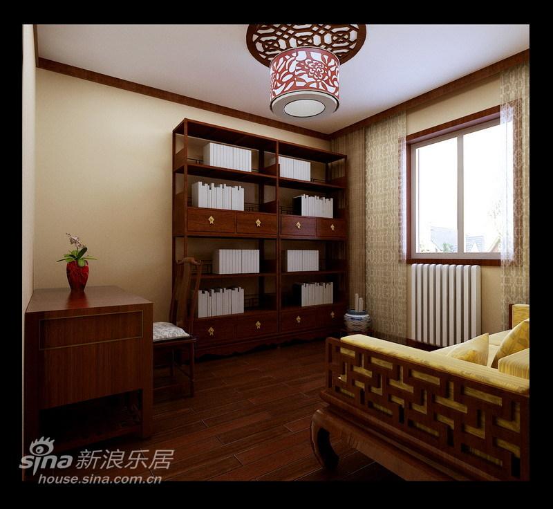 中式 二居 书房图片来自用户2740483635在现代中式65的分享