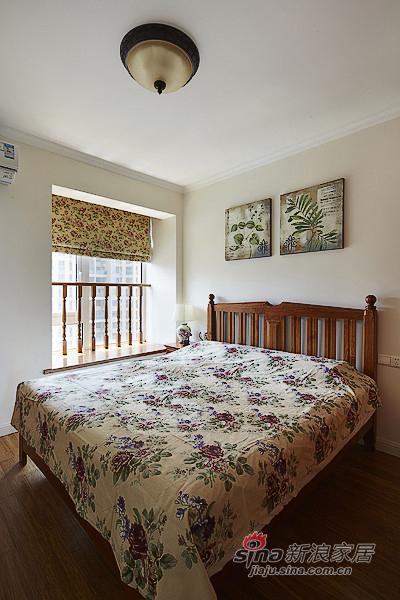 混搭 二居 卧室图片来自装修微日记在【高清】89平现代美式混搭二人世界91的分享