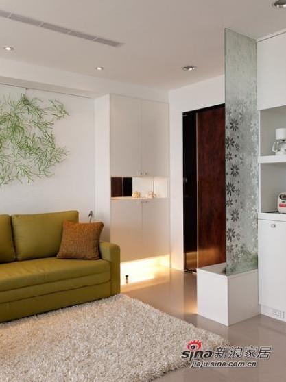 简约 二居 客厅图片来自用户2738845145在95平方素雅温馨简约系阳光美居19的分享