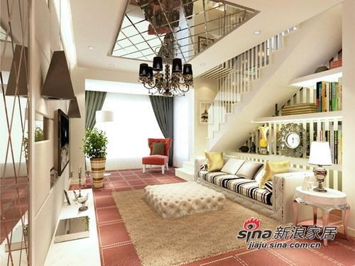 简约 别墅 客厅图片来自用户2737735823在9万装160㎡复式家居设计案例44的分享