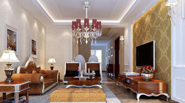 欧式 三居 客厅图片来自用户2746948411在百瑞景中央生活区62的分享