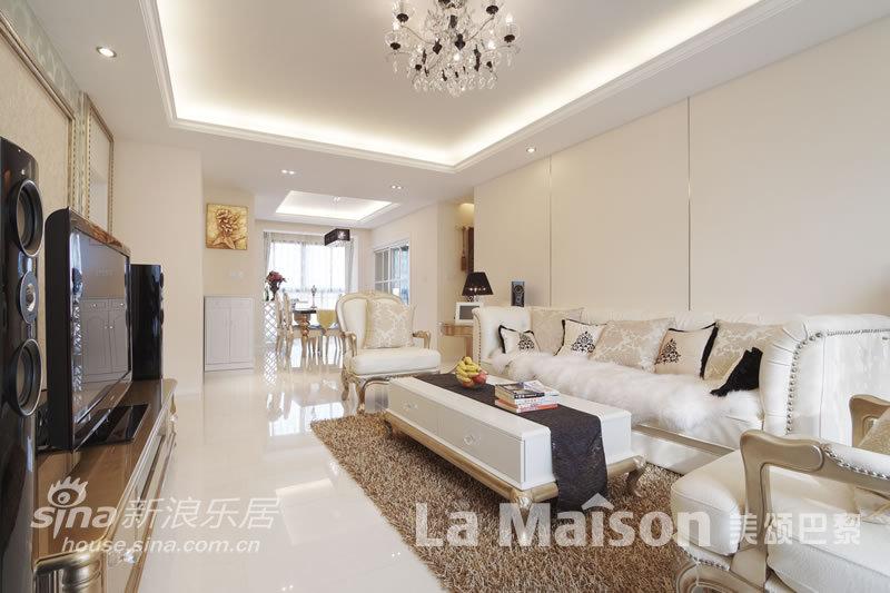 简约 三居 客厅图片来自用户2738829145在美颂巴黎简约欧式风格66的分享