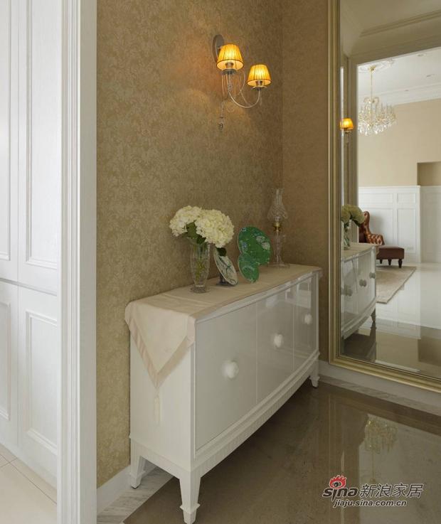 美式 复式 玄关图片来自佰辰生活装饰在17万打造165平时髦美式三口之家68的分享