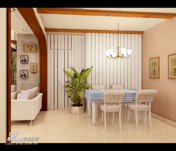 简约 三居 餐厅图片来自用户2745807237在顺驰领海 (挑高层居室)65的分享