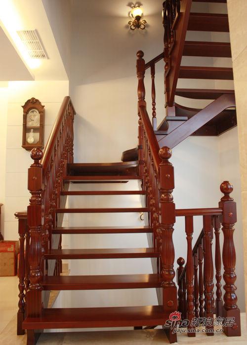 红木楼梯 富贵庄重