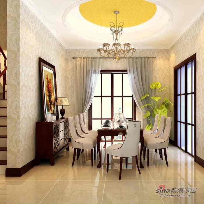 欧式 三居 餐厅图片来自用户2557013183在舒适温馨的简欧风格62的分享