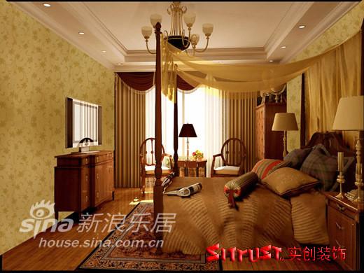 欧式风格次卧室
