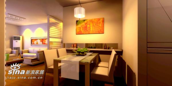 简约 二居 餐厅图片来自用户2737735823在简约现代风格63的分享