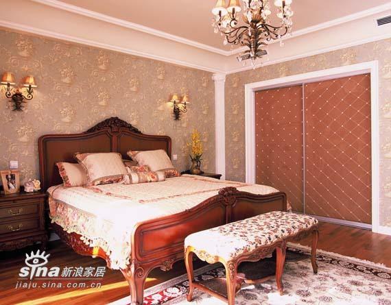 欧式 三居 卧室图片来自用户2746948411在万城华府92的分享