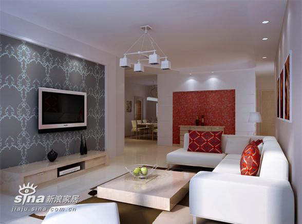 简约 二居 客厅图片来自用户2737759857在轻舟设计部出品50的分享