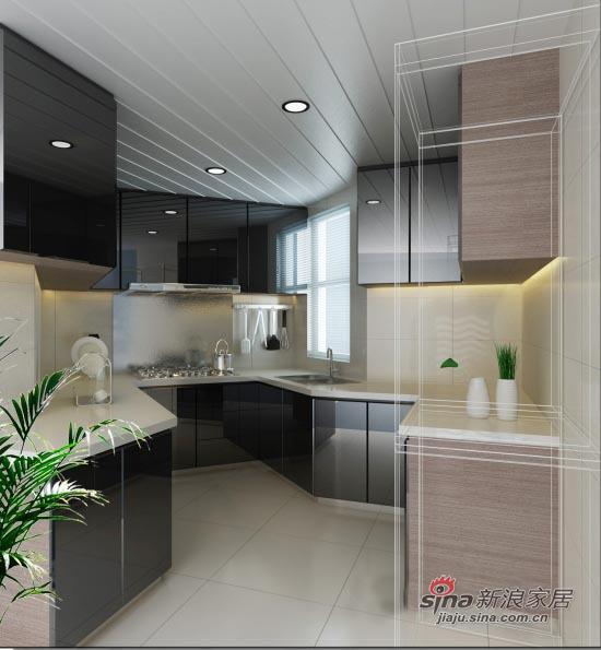 简约 二居 厨房图片来自用户2737759857在109平米简约舒适2居室14的分享