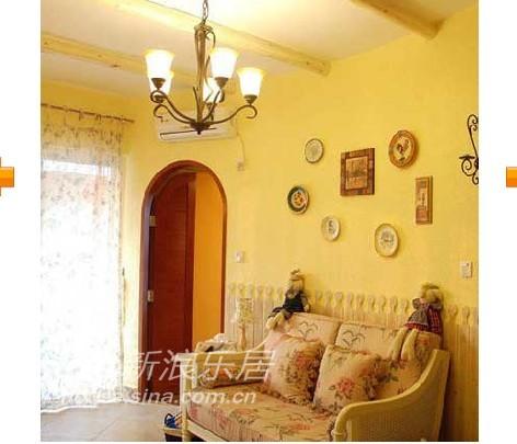 田园 二居 客厅图片来自用户2737946093在小户型变身大空间60的分享
