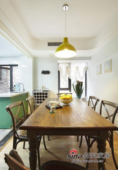 简约 三居 餐厅图片来自用户2737950087在小夫妻5.8万大造110平简约三居室11的分享