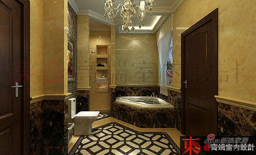 欧式 别墅 卫生间图片来自用户2745758987在【高清】200平典雅欧式风情42的分享