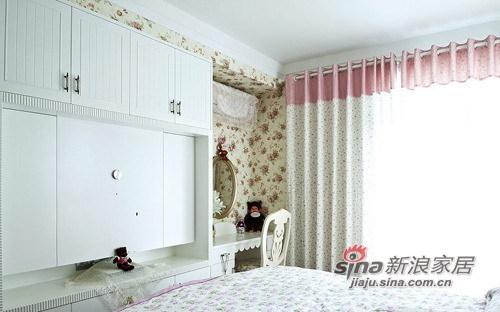 北欧 三居 卧室图片来自用户1903515612在130平不一样的欧美风情三室两厅84的分享