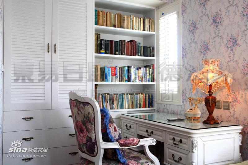 欧式 别墅 书房图片来自用户2772873991在中海-半岛华府85的分享