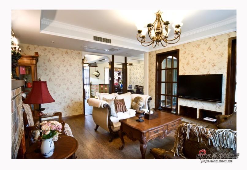 其他 三居 客厅图片来自用户2558757937在美式乡村2居高雅不失格调15的分享