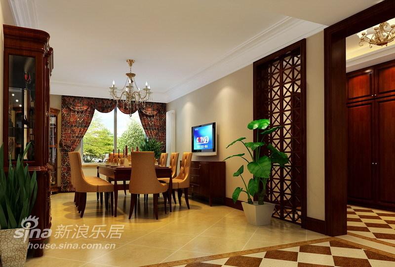 欧式 四居 客厅图片来自用户2746948411在最适宜居住的沉稳欧式设计87的分享