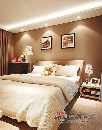 简约 二居 卧室图片来自佰辰生活装饰在12万装69平现代简约小婚房94的分享