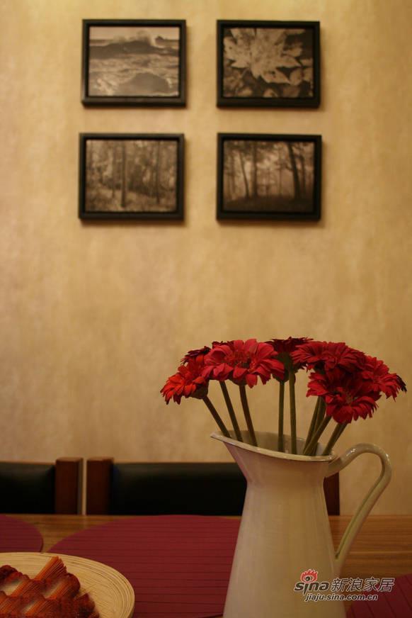 简约 三居 餐厅图片来自佰辰生活装饰在106平现代简约温馨三口之家28的分享