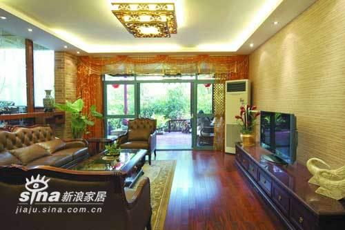 其他 跃层 客厅图片来自用户2737948467在业之峰装饰阿凯迪雅别墅73的分享