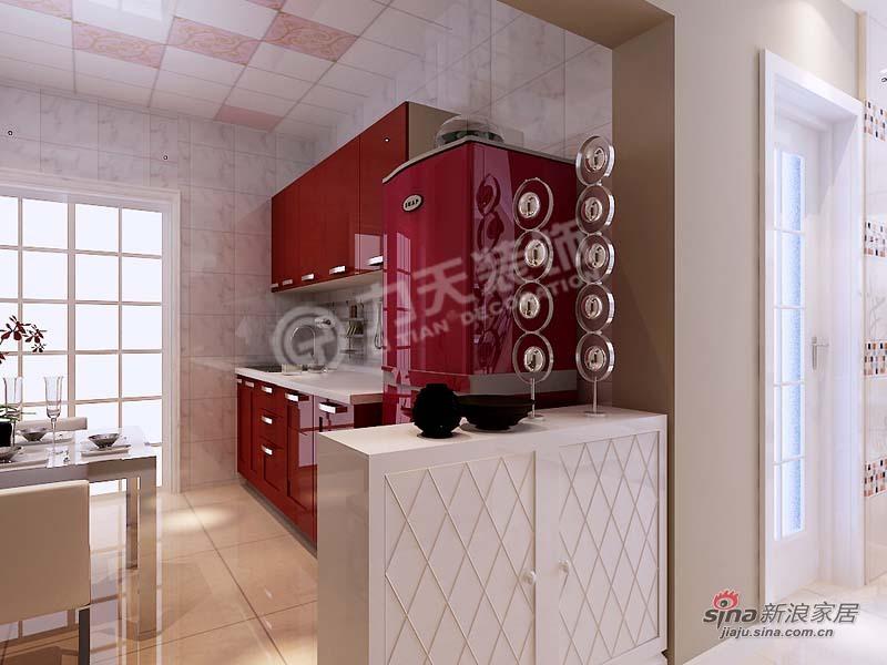 简约 三居 厨房图片来自阳光力天装饰在金筑花园-3室1厅1厨1卫-简约风格83的分享