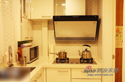 简约 二居 厨房图片来自用户2557979841在8万70平旧居改造温馨阳光房53的分享