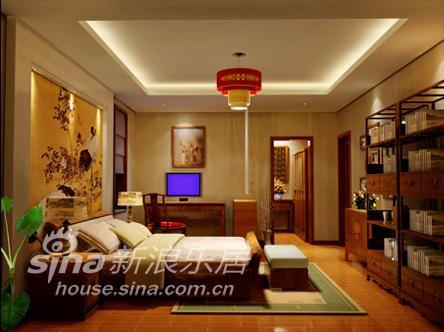 中式 四居 卧室图片来自用户2757926655在沉醉东方92的分享