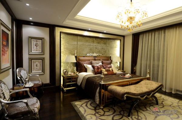 欧式 三居 卧室图片来自用户2746948411在139平欧式范儿三居室74的分享