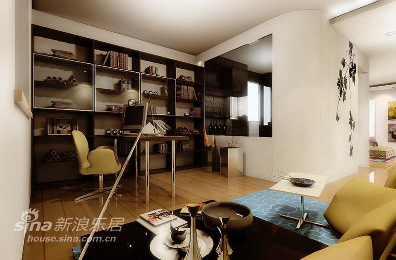 简约 三居 书房图片来自用户2737786973在仅花10万装修国风北京现代简约二手房74的分享