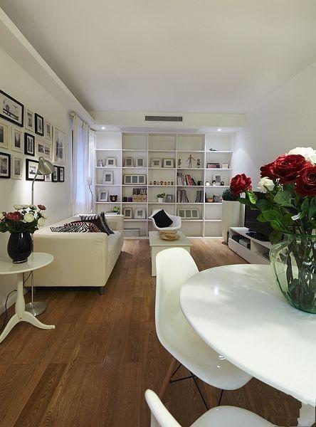 简约 二居 餐厅图片来自用户2738845145在5.5万打造现代温馨舒适两居室81的分享
