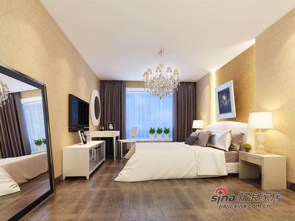 简约 二居 卧室图片来自用户2738820801在7万装112平温馨实用家20的分享