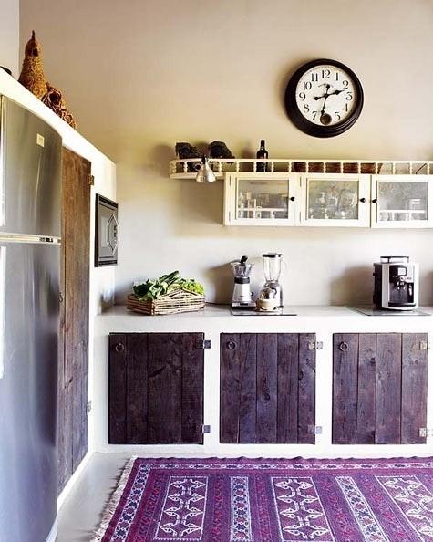 薰衣草风格的厨房 有没有想起普罗旺斯?