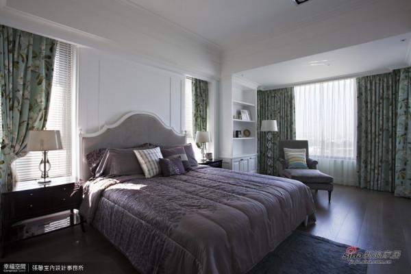 9.主卧室-采用气质淡雅的湖水绿作为空间