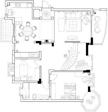 欧式 别墅 客厅图片来自用户2746869241在保集半岛49的分享
