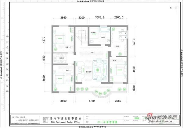 320平中式风格别墅