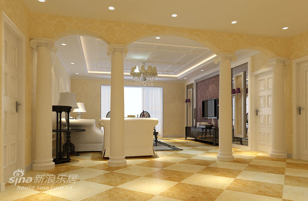 其他 二居 客厅图片来自用户2737948467在轻舟打造完美丽水莲花79的分享