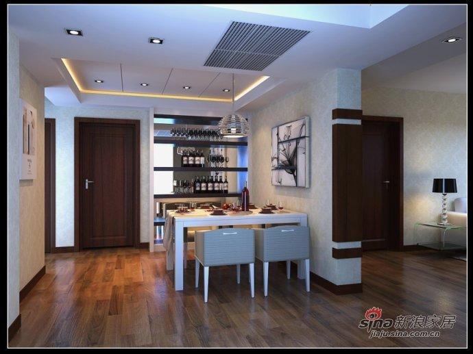 简约 三居 餐厅图片来自用户2745807237在120平米简约实用三居室38的分享